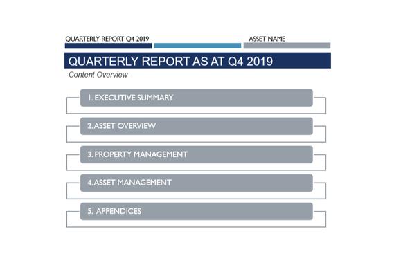 Real Estate Asset Investor Reporting