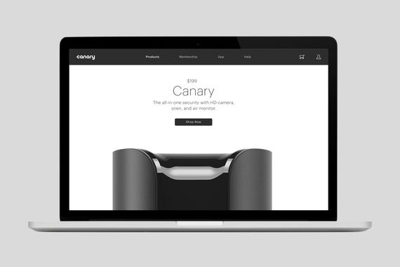 Canary Web Experience