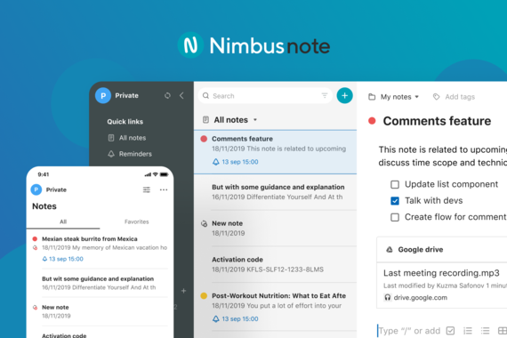 Nimbus Note