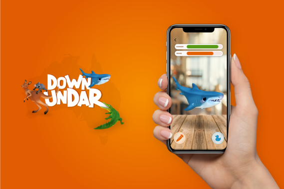 Down UndAR | Augmented Reality Game