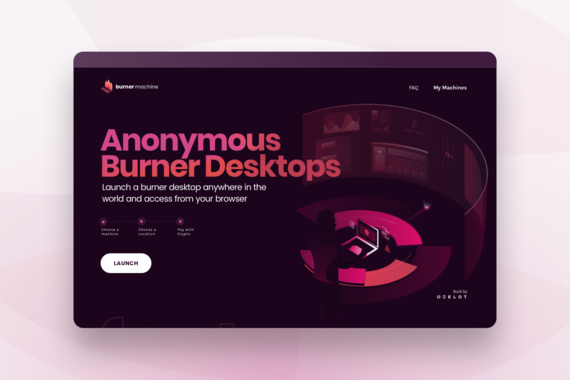 Burner Machine | Web, UX, UI Design