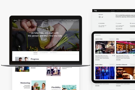 Merivale Website