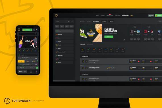 Fortunejack - Sportsbook Platform