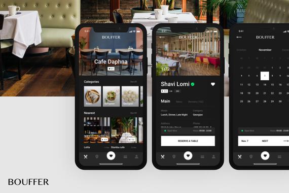 Bouffer - Restaurant Reservation Application