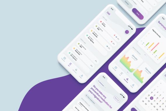 Migraine App   iOS App Design