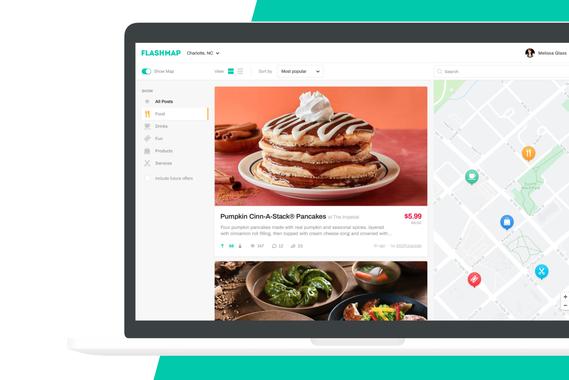 Flashmap   Web App Design