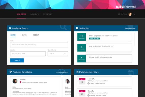 Online Talent Platform