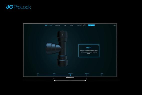 John Guest   3D Product Website
