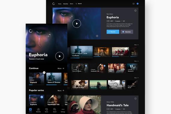 Streaming Web/App
