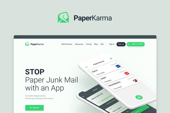 PaperKarma | Responsive Website