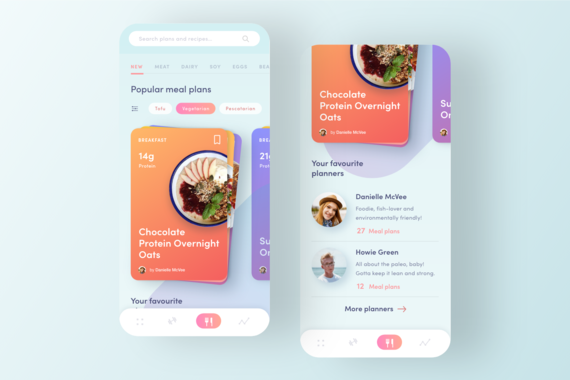 Meal Planning and Fitness App