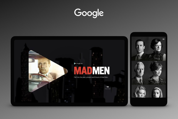 Google – A Mad Men Retrospective for Google Play