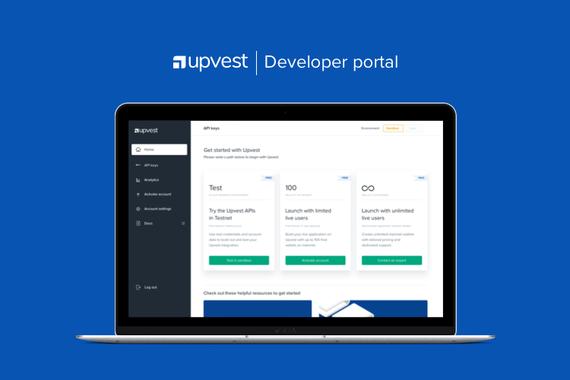 Upvest Developer Portal Design