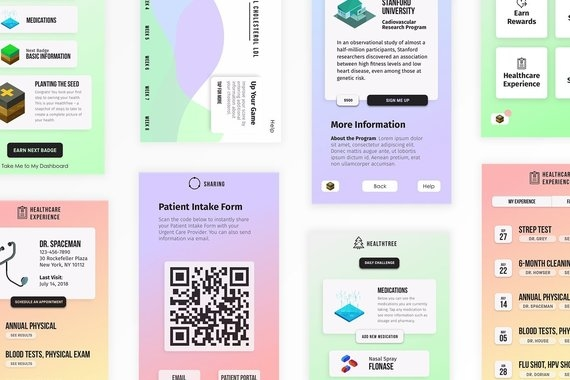 Loop Health – Mobile App Design