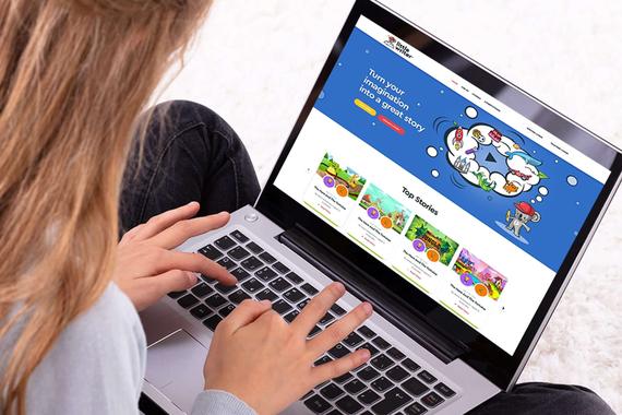 Little Writer | Web Application for Kids