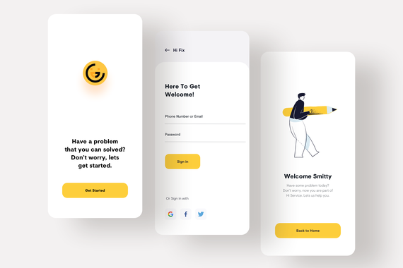 Grittee: The Innovative Service Trading App