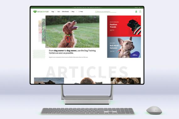 Vivapets | eCommerce and Portal