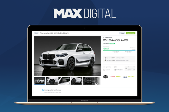 MAX Digital | Automotive Digital Retailing and Marketing Software