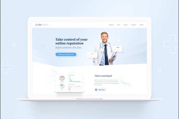 Valet Health UI Design