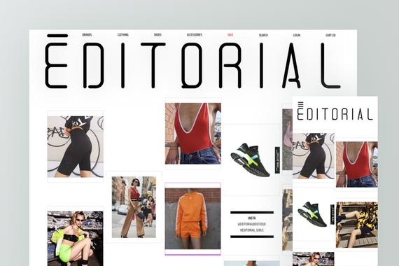 Editorial Boutique | Fashion Magazine's Closet