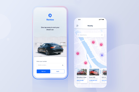 Rentoo App: Taking the Car Leasing Experience to The Next Level