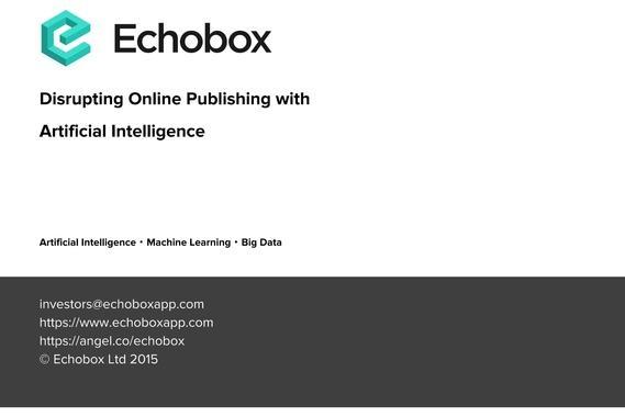 Echobox Fundraising