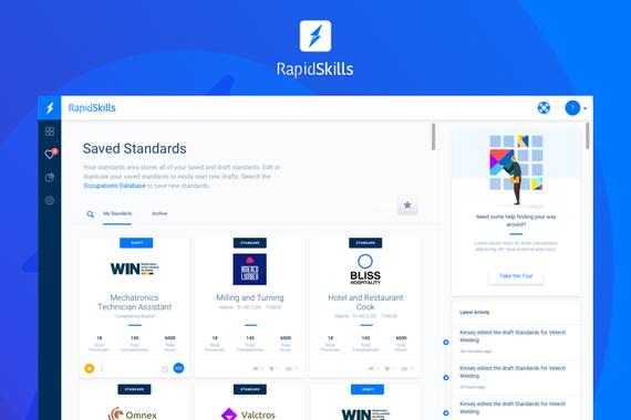 RapidSkills Web App
