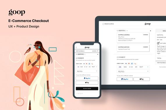 Goop – Web eCcommerce Checkout Design