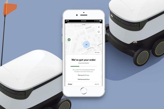 Autonomous Robot Deliveries