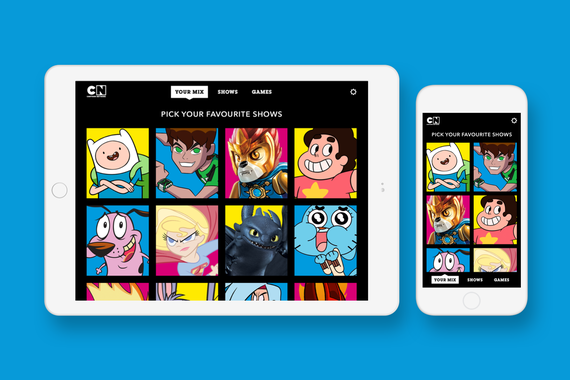 Mobile and Tablet Design for a Children's Video App
