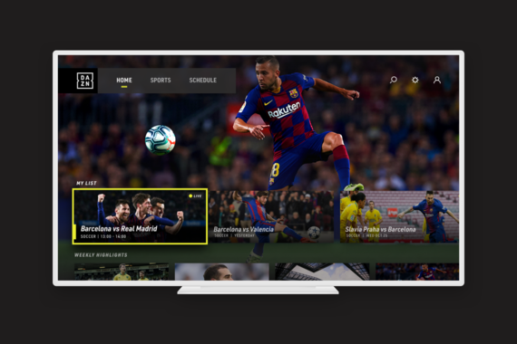 Concept for a Sports Video App