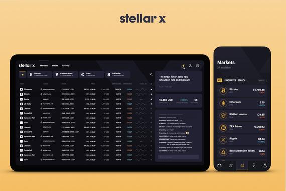 StellarX – A Trading Platform Built On Blockchain