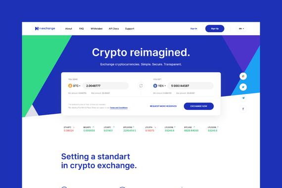 n.exchange - Cryptocurrency Exchange