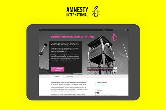 Amnesty International UK   Responsive Website