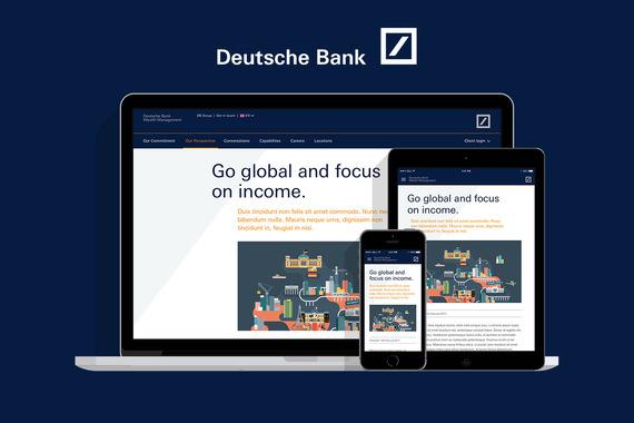 Deutsche Bank   Digital Magazine Responsive Site