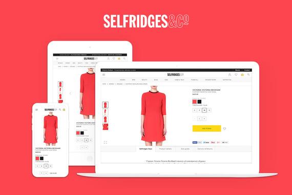 Selfridges & Co.   Full Responsive Site Design