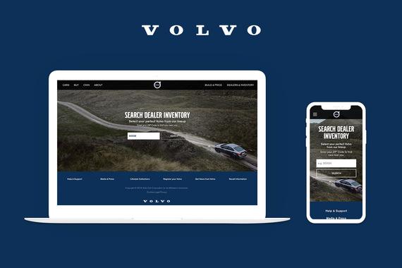 Volvo Cars (US)   Car inventory locator