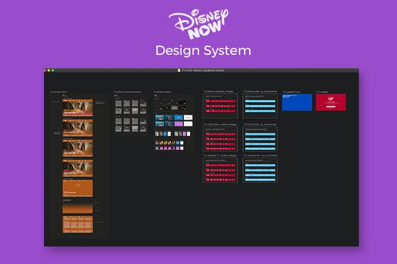 DisneyNOW Design System