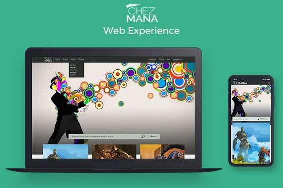 ChezMana, Inc. Web Experience MVP