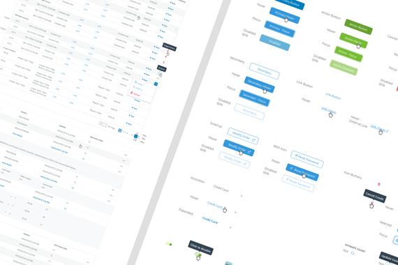 Admin Portal Design System