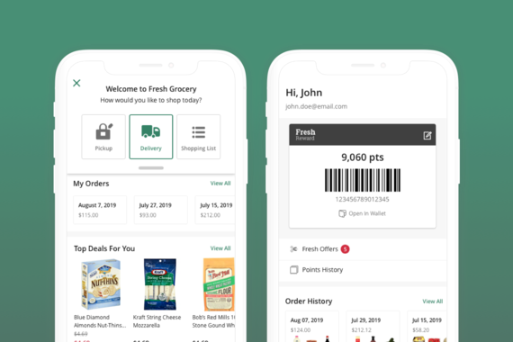 Grocery eCommerce Mobile App