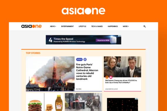 AsiaOne: A Southeast Asian News Website