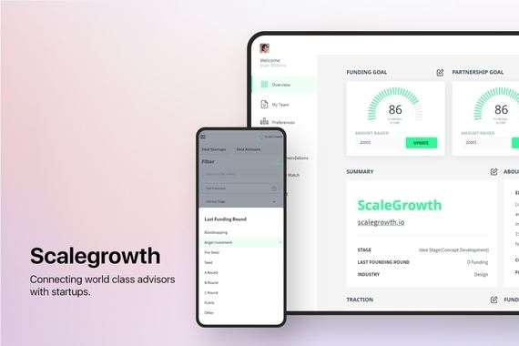 Scalegrowth - Connecting World Class Advisors with Startups