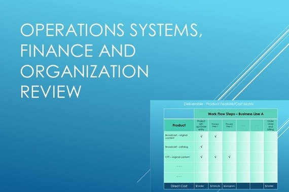 Operations Systems and Business Process Review