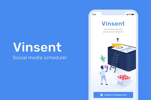 Vinsent | Social Media Scheduler for Fitness Businesses