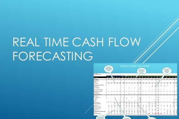 Real Time Cash Flow Forecasting