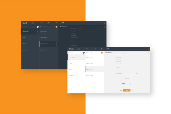 OWIS – Web App, Website, and Brand Identity for Enterprise CMS