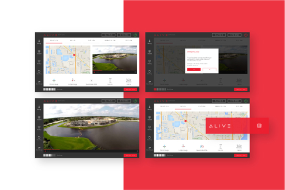 Alive – Web and Desktop Applications, Operating System, eCommerce, and Website for Drones and Robots