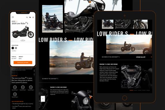 Harley-Davidson eCommerce Redesign