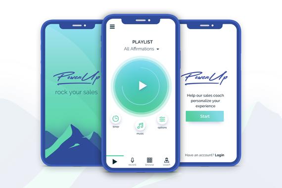 PowerUp Sales – B2B2C App